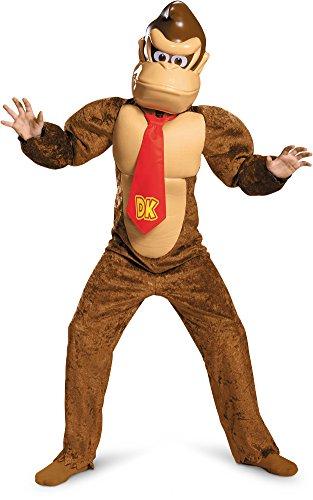 (Donkey Kong Deluxe Super Mario Bros. Nintendo Costume,)