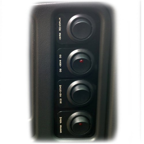 Nitrous Express (15772) Custom Switch Panel for GM (Express Nx Nitrous Kit)