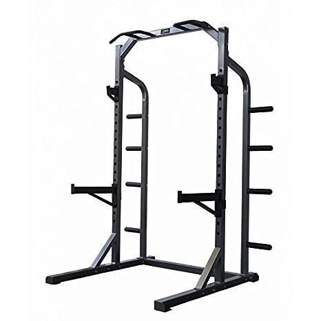 DKN Rack Half Rack Negro/Gris Única: Amazon.es: Deportes y aire libre