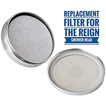 Barclay's Buys - Dechlorinating Shower Filter and Reduces Dissolved Solids - Helps Dry Hair and Itchy Skin - Spa Water Pressure - Designed for The Reign Shower Head