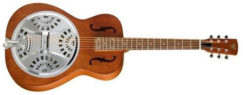 Neck Dobro Guitar (Epiphone Dobro Hound Dog Round Neck Resonator Guitar)