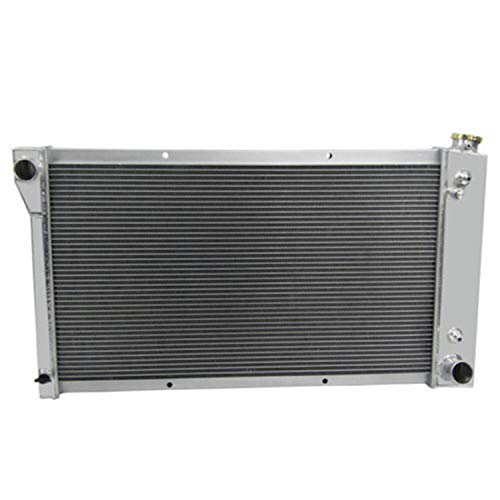 CoolingCare 3 Row All Aluminum Radiator for GMC/Chevy C/K/G Series C10/C20/C30 Pickup Truck 1967-72