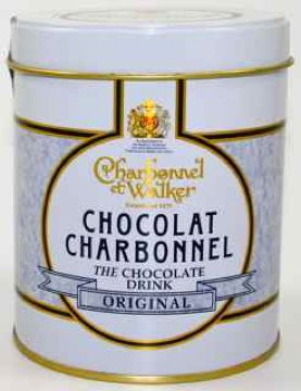 Charbonnel et Walker Luxury Drinking Chocolate White And Gold Gift Tin 300G