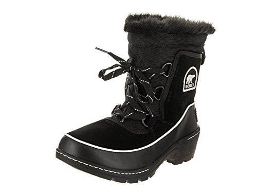 SOREL Women's Tivoli III Black/Light Bisque Boot