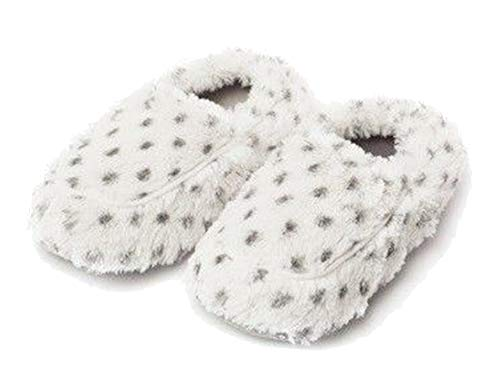 Microwavable Slippers - Intelex Fully Microwavable Luxury Cozy Slippers Snowy