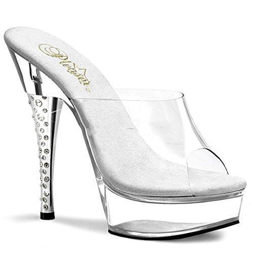 Pleaser Diamond-601 - sexy plateau talon hauts chaussures femmes sandalettes 35-43