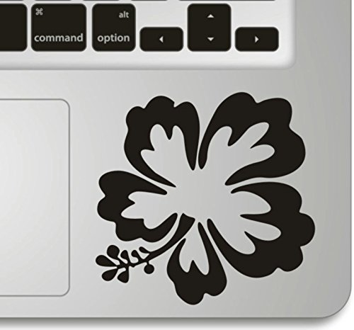 Vati Leaves Removable Lucky Flower Humor Handmade Partial Art Skin Cool Design Vinyl Decal Sticker for Trackpad Keypad Of Apple Macbook Pro Air Mac La…