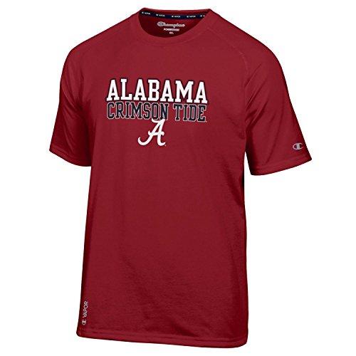 Alabama Crimson Tide T shirt NCAA, Crimson By Champion XXL