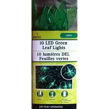 Amazon Com Green Leaf Flower String Lights For Patio