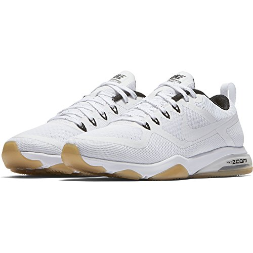 low price fee shipping for sale discount supply NIKE Women's Air Zoom Fitness Training Shoe White/White-black-gum Light Brown clearance cost Hiw0aF