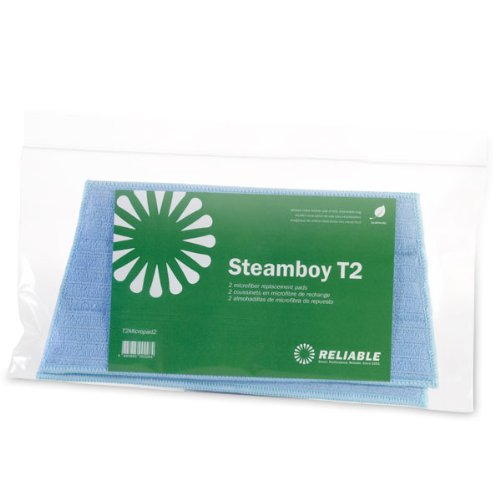 Floor Mop Reliable (Reliable Corporation Original Replacement Pads for T2 Steamboy)