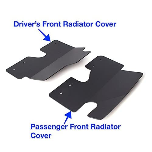 Bevel Engineering Polaris General 1000 Mud /& Rock Protection Package Radiator Guards Shields