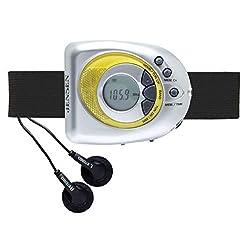 JENSAB55A - JENSEN SAB-55A Digital AM FM Stereo Armband Alarm Clock Radio