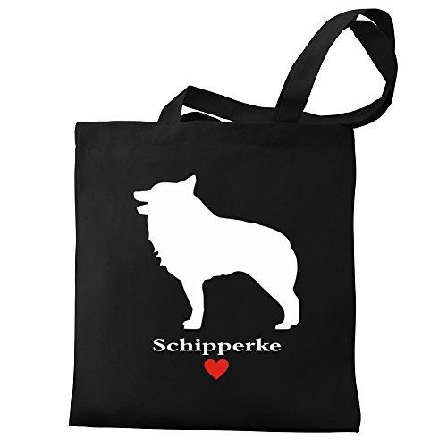 Eddany love Bag Canvas Schipperke Schipperke love Tote Eddany 4BSvznq1