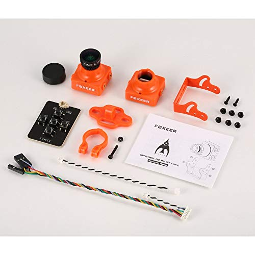 FPV Camera Foxeer Arrow 600TVL NTSC CCD Mini FPV Camera Cam with 2.5mm Lens OSD Menu Switch Backlight IR-Block for DIY RC Racing Drone