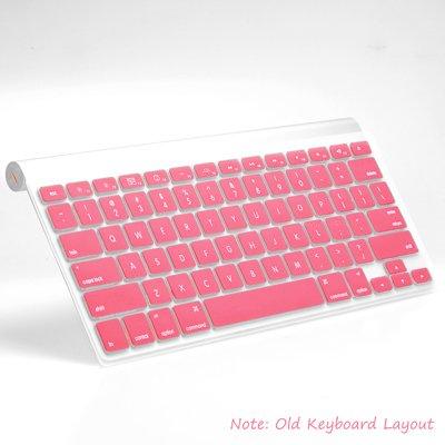 gradiente Rosa Funda Protectora de Teclado para Macbook Pro 13-15iMac Funda de Silicona para Teclado