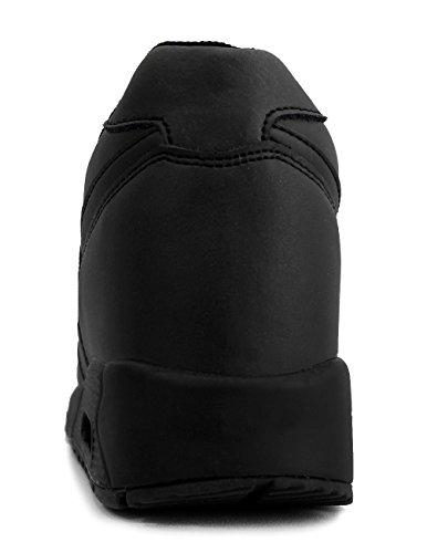 Mnx15 Damesliftschoenen Hoogte Toename 3.9 Aron Zwart Zwart