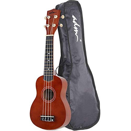 ADM, 4-String Ukulele, Right Handed, Brown -