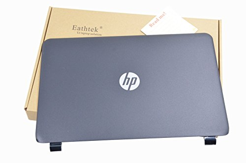 Eathtek Replacement Laptop LCD Back Cover for HP 15-G 15-R 15T-R 15Z-G 15-G040CA 15-g000 15-r000 15-r100 15-r200 15T-R000 15T-R100 15Z-G000 15Z-G100 series, Compatible with part# 749641-001 761695-001 (Laptop Lcd Series)