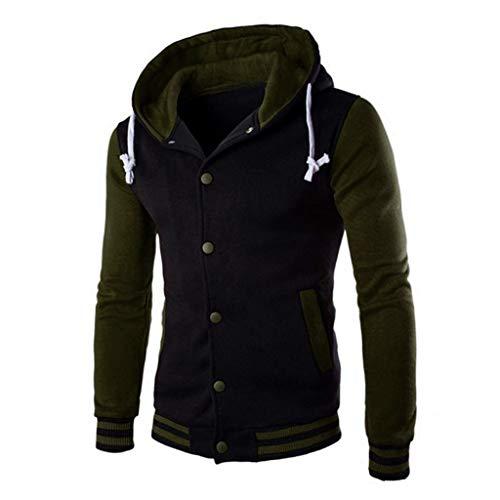GOVOW Men's Hooded Lightweight Windbreaker Winter Soft Golf Jacket