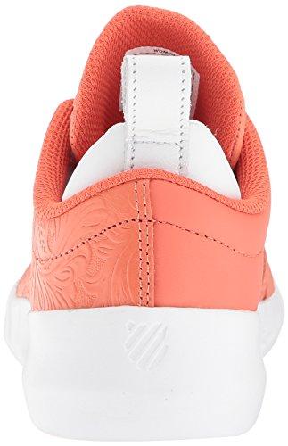 K-swiss Donna Gen-k Icon Sneaker Coral / White