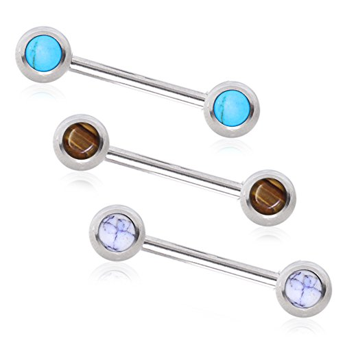 Nipple Barbell Arrow 316L Surgical Steel Nipple Bar Eyebrow Ring Cartilage Earring Helix Jewelry Tragus Ring (14g 1/2