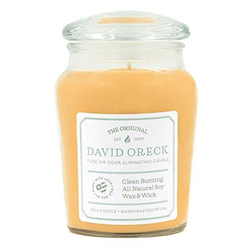 22oz Original Clean Burning Odor Eliminating Candle, 120 Hour Burn Time, Soft Citrus ()