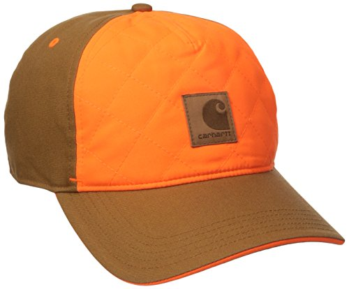 Carhartt Men's Upland Quilted Cap, Brown, One Size