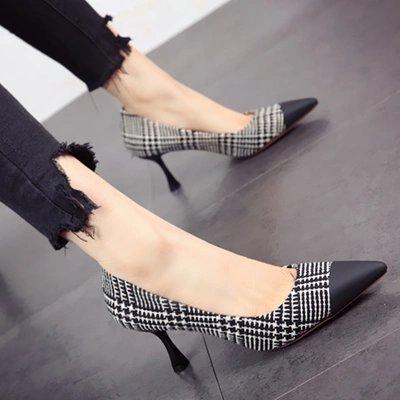 partido primavera El de boca único alta zapatos zapatos y personalidad trabajo sexy estilo superficial Zapato moda de de de FLYRCX otoño c la tacón Zapato europeo simple 7pdR7qw