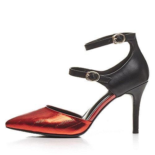 Red tacón Zapatos de Nine mujer SevenHeels XOwgHUq7