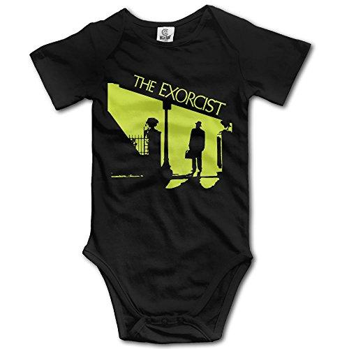 Grace Little The Exorcist Unisex Vintage Infant Romper Baby Girl Play Suit 6 M Black -