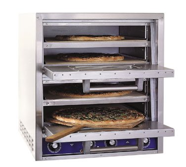 Bakers Pride P44-S Countertop Electric Pizza Oven Double Ove