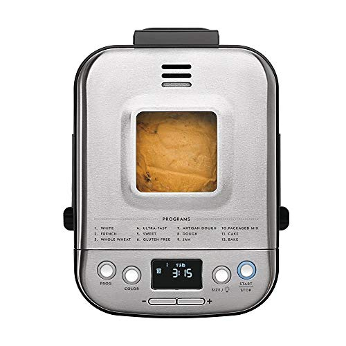 Cuisinart BMKR-220PC Fully Automatic Compact Bread Maker, 2-Pound by Cuisinart (Image #2)