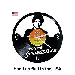Vinyl Clock, Springsteen, Bruce, Wall clock, vinyl record clock