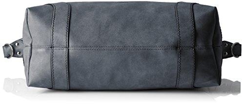 s.Oliver Damen Shopper, 15x37.5x45 cm Grau (Grau)