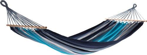 Jobek 21601 Stabhängematte Orinocco, recycled Cotton, streifen blau