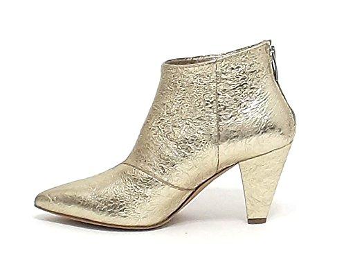 Janet Botas Para Mujer Dorado Dorado