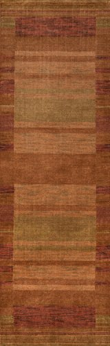 Momeni Rugs GRAMEGM-15RST2680 Gramercy Collection, 100% Wool Hand Loomed Contemporary Area Rug, 2'6