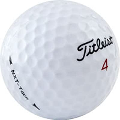 Titleist NXT Tour AAAA Near Mint Used Recycled Golf Balls, 50-Pack