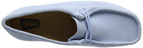 Clarks Women's Wallabee Derbys Blue (Pastel Blue) clearance best seller buy cheap with paypal sale cheap hYVbMN0V