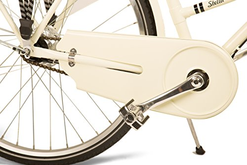 Stella 7-speed Internally-geared Luxury Step-through Bicycle with Classically Lugged Steel Frame
