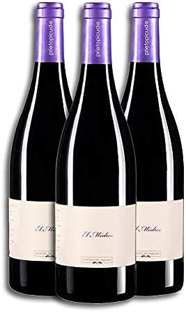 Vino Tinto - Leyenda del Páramo - El Médico - Vino Premiado - Caja de 3 botellas de 75 cLitros(9 meses en barrica) - Envio en caja protectora de alta resistencia para un transporte 100% seguro