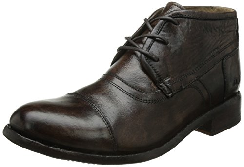 Letto | Stu Randall Mens Teak Glaze Boots Smalto Teak