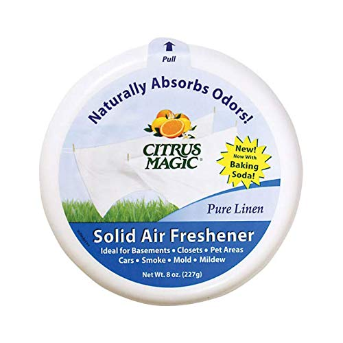 (Solid Air Freshener Pure Linen 8 Ounce)