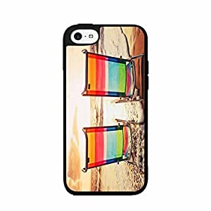 Beach Chairs also At glass Sunset - Case observed Back Cover (iphone 6 plus - TPU Rubber Silicone) fruit