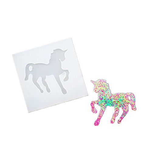 DOYOLLA Clear Unicorn Silicone Molds DIY Resin Jewelry Making - Import It  All