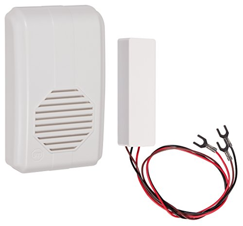 (Safety Technology International, Inc. STI-3300 Wireless Doorbell Extender with Receiver Connects to Existing Hardwired Doorbell, Part of Musical Wireless Chime Series)