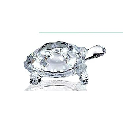 c5988e13d0e Buy Devnow Crystal Peace n Luck Glass Tortoise Online at Low Prices in  India - Amazon.in