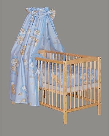 Amigos Baby Bettset Bettwäsche 4 tlg Bär auf Wolke gelb
