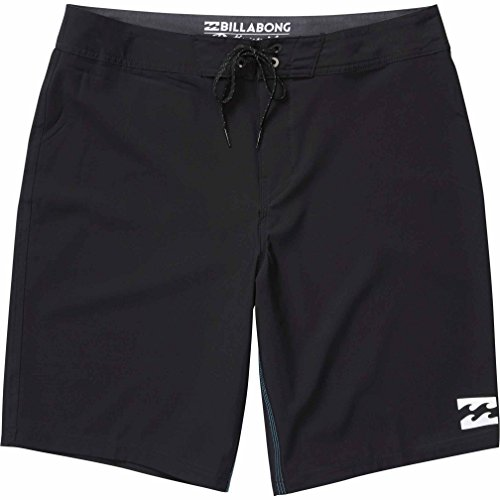 Billabong Surf Shorts (Billabong Men's All Day Stretch Boardshorts, Black Solid, 38)